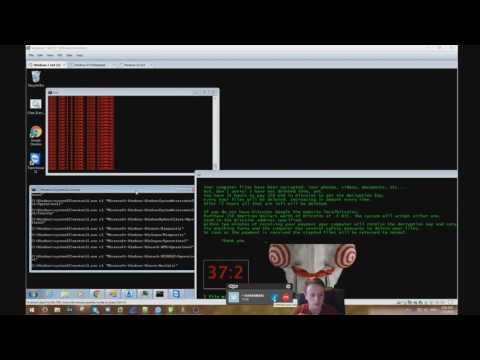 Tech Support Scammer vs Jigsaw Ransomware!