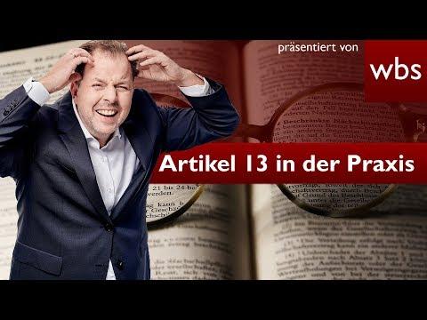 Artikel 13: Deswegen ist er nicht praxistauglich! | Rechtsanwalt Christian Solmecke