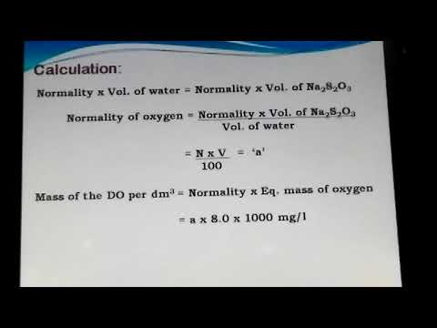 Water Technology_DO,BOD,COD By Dr. Prasanna Koujalagi