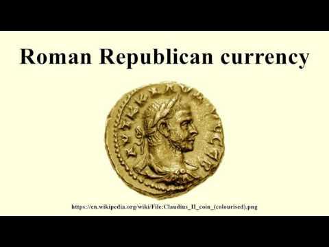 Roman Republican currency