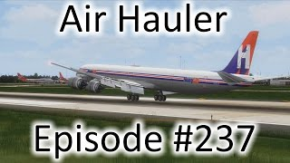 FSX | Air Hauler Ep. #237 - Buffalo to Orlando | DC-8-73F