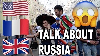 USA, France, & UK shocking impressions about Russia