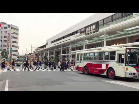 Shopping Streets In Kichijoji