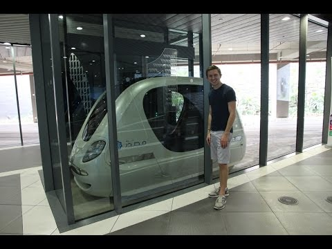 Visiting Masdar City, UAE (United Arab Emirates)