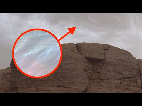 NASA's Curiosity Rover Discovers Strange Clouds on Mars!