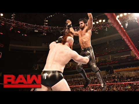 Seth Rollins vs. Sheamus: Raw, July 31, 2017