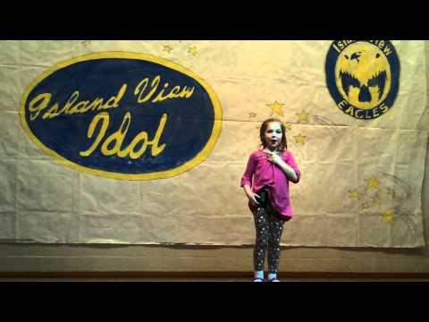 Molly Singing Island View School Variety Show 2011 .MOV