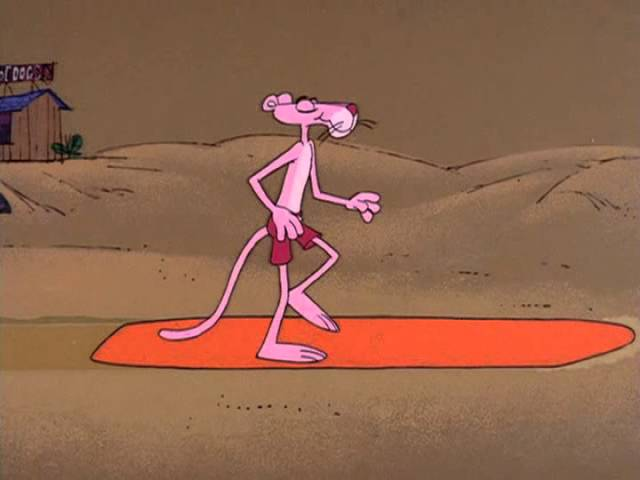 The Pink Panther Show Episode 40 - Come on In! The Water's Pink
