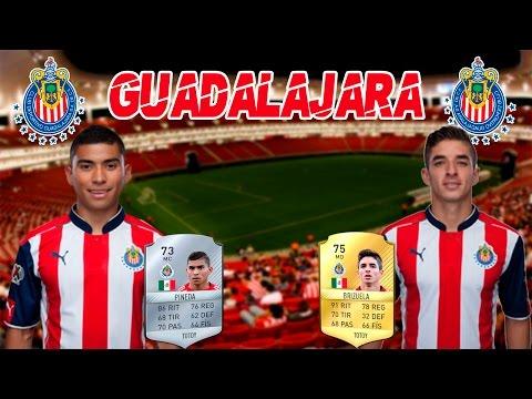 CLUB DEPORTIVO GUADALAJARA | EQUIPOS DE LA LIGA MX EN Ultimate Team | FIFA 17