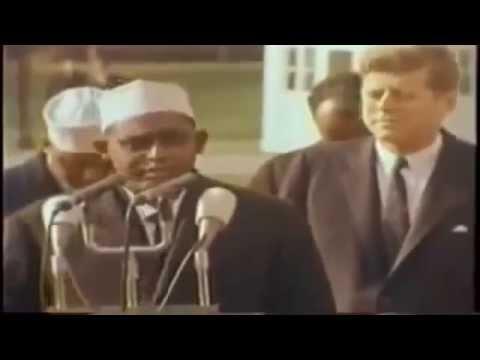 Prime minister of Somalia Sharmaake Welcomed in Washington D.C 1962