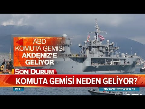 Akdeniz'de savaş gemisi yığınağı! - Atv Haber 12 Eylül 2018
