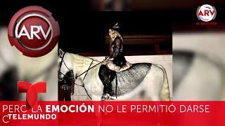 Madonna sorprende a todos en su cumple con este caballito | Al Rojo Vivo | Telemundo
