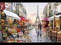Richard Macneil paintings ✽ Secret Garden / Sometimes When It Rains