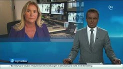 Susanne Glass bei Tagesschau24, 25.07.2017