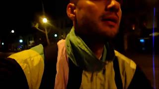 Djinga - Paris - Late Night Bike Ride - [11,6km Arc de Triomphe - Porte de Vincennes]