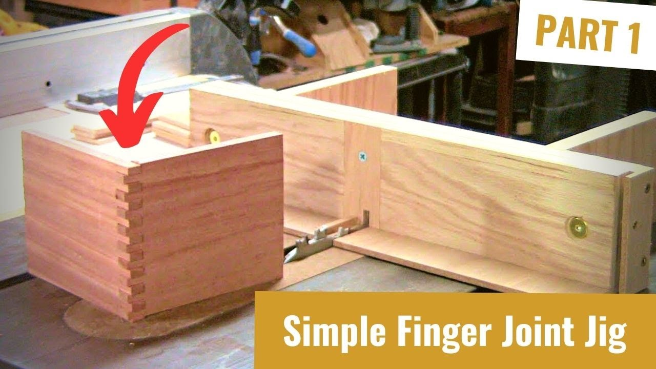 Build a Finger Joint Jig Part 1 - YouTube