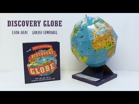 Discovery Globe: Build-Your-Own Globe Kit Virtual Book Video