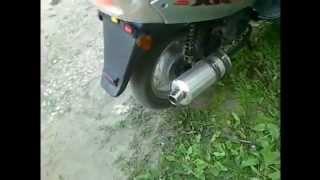 Прямоток на скутер своими руками(, 2012-03-29T20:47:16.000Z)