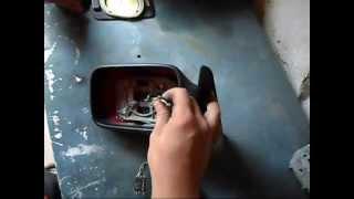 Ремонт зеркала c электроприводом