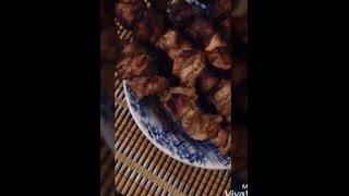 Рецепт очень вкусного шашлыка/recipe for a very tasty shish kebab