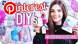 5 LAST-MINUTE MUTTERTAGS DIY - GESCHENKIDEEN ♥ Pinterest Inspired // I'mJette