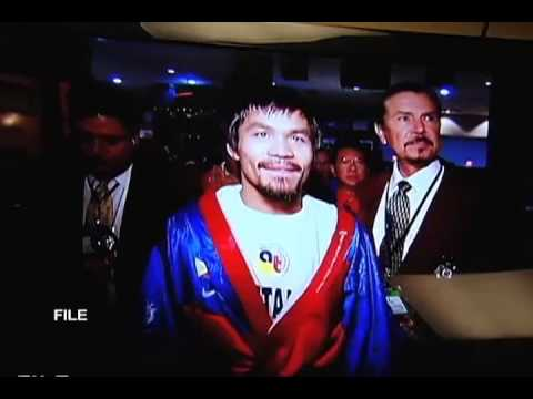 Pacquiao admits surrendering a fight once