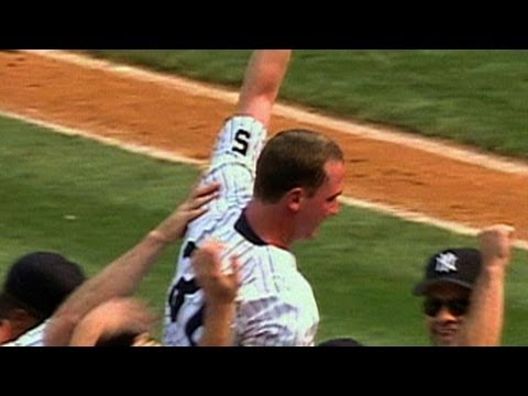Watch all 27 outs of David Cone's perfect game