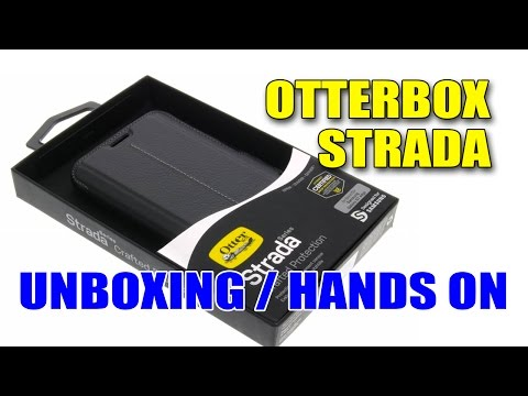 Otterbox Strada Unboxing/Hands on ((PT))
