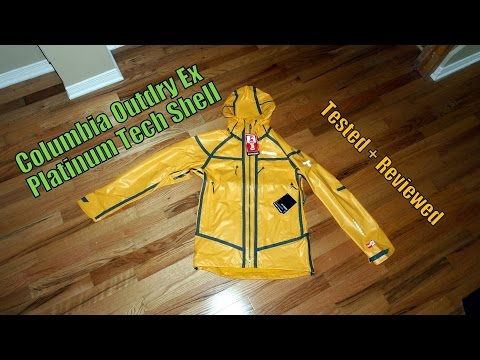 Columbia Outdry Ex Platinum Tech Shell Tested + Reviewed