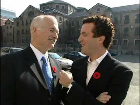 RMR: My Riding with Jack Layton