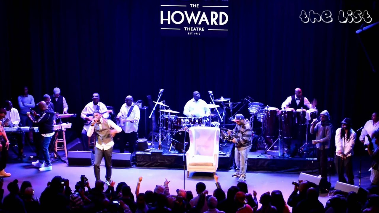 Backyard Band DMV Honors Big G Howard Theatre pt 1 - YouTube