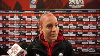 Canada Josee Belanger 2016 Feb 11 CONCACAF Olympic Qualifying