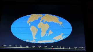 Видеореконструкция дрейфа континентов(За такое видео я бы в детстве родину продала. Честно. Я мечтала увидеть такую карту в движении., 2015-07-17T18:40:22.000Z)