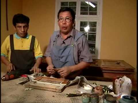 Como pintar madera muebles puertas ventanas vallas for Como pintar una puerta de madera vieja