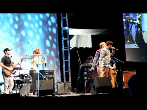 Felicia Day, George Watsky & Hank Green - I'm the One That's Cool - LIVE at VidCon 2012