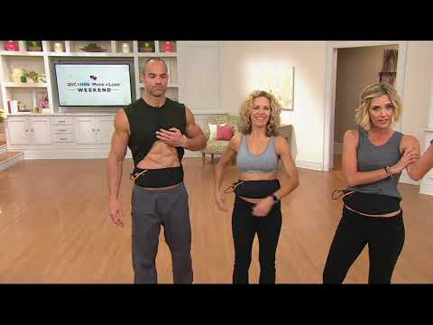 The Flex Belt Ab Toning Belt w/ Choice of Arms or Bottom Muscle Toning on QVC