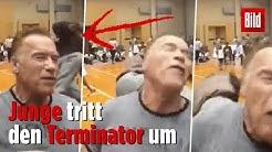 Arnold Schwarzenegger brutal umgetreten