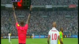 بالفيديو.. #شيكابالا يلقي شارة «كابتن» الزمالك أمام صن داونز
