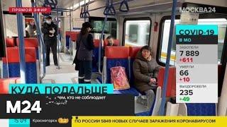 В Москве начали штрафовать за нарушение дистанции в транспорте - Москва 24