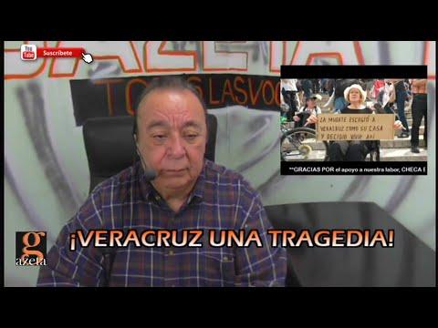 ¡VERACRUZ UNA TRAGEDIA! / #VideoColumna / David Varona Fuentes /25 feb 2019