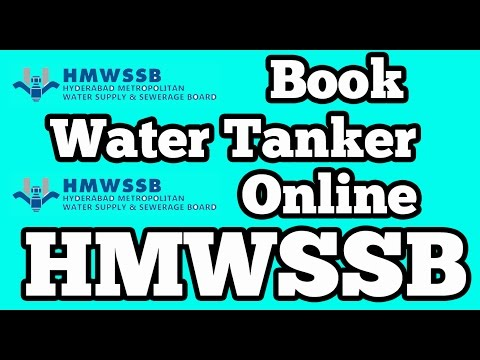 Book Manjeera Water Tanker online | Hyderabad Metropolitan Water Supply