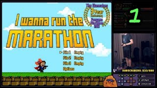 GameStomp || I Wanna Run The Marathon w/ DDR Dance Pads | PART 1