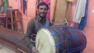 beautifull voice on dhol qasida Peer man lay ali nu peer man ly..........