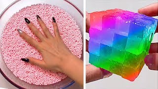 Relaxing Slime Compilation ASMR | Oddly Satisfying Video #98