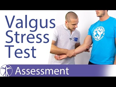 Elbow Valgus Instability Stress Test⎟Medial Collateral Ligament