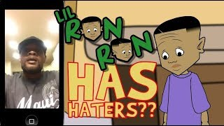 MAN HATES THE LIL RON RON CARTOON (LIL RON RON/CARTOON CONNECT EXPOSED)