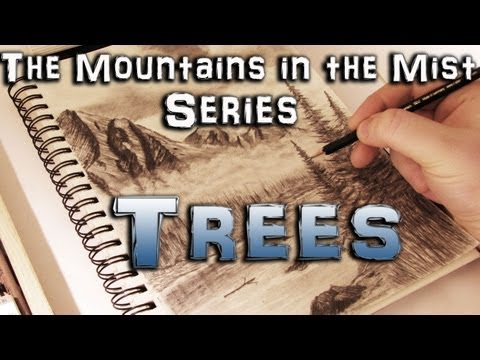How to Draw Trees - Mountains in the Mist Series Part 7