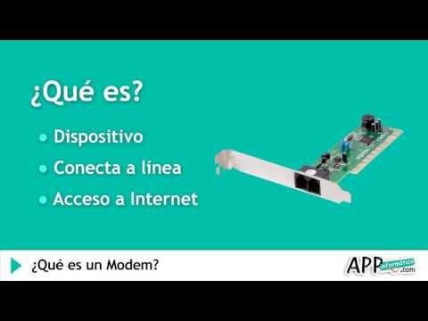 ¿Qué es un Modem? l APPinformatica.com