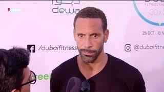 News Reports Rio Ferdinand kicks off the inaugural Dubai Fitness Challenge