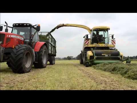 Krone Big X 700 lifting Second Cut Silage